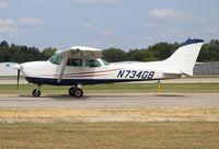 N734GB @ PTK - Cessna 172N