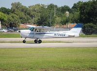 N734QA @ ORL - Cessna 172N