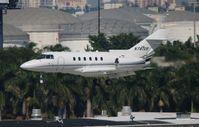 N741VR @ FLL - Hawker 800XP