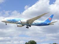 B-2788 @ EGLL - Landing runway 27L at Heathrow airport EGLL - by Marc Mansbridge