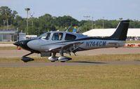N744CM @ LAL - Cirrus SR-22T