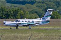 D-IABE @ EDDR - Piper PA-42-720 Cheyenne III - by Jerzy Maciaszek