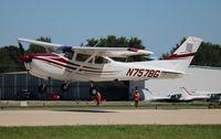 N757BG @ OSH - Cessna R182