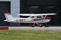 G-BIFY @ EGSH - Parked at Norwich. - by Graham Reeve