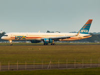 TF-ISX @ EGSH - Rolling down RWY 09 @ NWI in some low setting sun... - by Matt Varley
