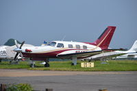 N14EF @ EGTF - Piper PA-46-350P at Fairoaks. - by moxy