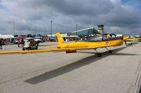 N763AF @ PTK - TG-7 Glider