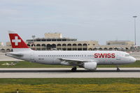 HB-IJS @ LMML - A320 HB-IJS Swiss - by Raymond Zammit