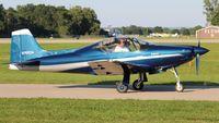 N767CN @ OSH - F-8L Falco