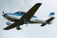 N122ZT @ LFKC - Take off
