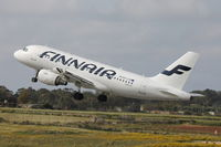 OH-LVA @ LMML - A319 OH-LVA Finnair - by Raymond Zammit