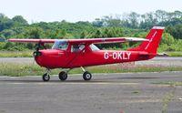 G-OKLY @ EGFH - Visiting F150K operated by Horizon Flight Training.