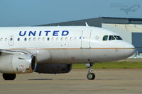 N852UA @ KDFW - Departing Runway 17L @ DFW - by Nelson Acosta Spotterimages