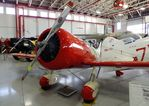 N3215M - Granville Brothers Gee Bee Senior Sportster Y Replica at the Fantasy of Flight Museum, Polk City FL