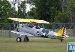 N67412 @ FA08 - Boeing (Stearman) A75N1 (PT-17) at Orlampa Inc Airport, Polk City FL