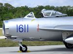 N217SH @ KTIX - PZL-Mielec Lim-5 (MiG-17F FRESCO) at Space Coast Regional Airport, Titusville (the day after Space Coast Warbird AirShow 2018)