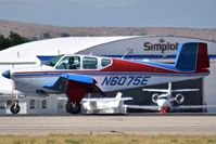 N6075E @ KBOI - Take off on RWY 10R. - by Gerald Howard