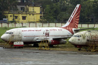 VT-EHH @ VECC - Derelict parked at NSCIA in Air India Cargo and India Post livery.