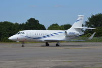 N542AP @ EGLK - Dassault Falcon 2000LX at Blackbushe. - by moxy