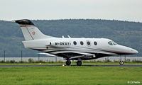 M-RKAY @ EGPN - At Dundee - by Clive Pattle
