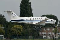 N127QR @ EBAW - Landing at Antwerp. - by Jef Pets