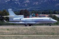 G-XION @ LFKC - Landing from Milan Linate