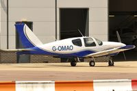 G-OMAO @ EGSH - Local Visitor.