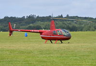 LN-OCS @ EGTB - Robinson R44 Raven II at Wycombe Air Park. - by moxy