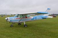 G-BNUL @ EGTB - Cessna 152 at Wycombe Air Park. Ex N4852M - by moxy