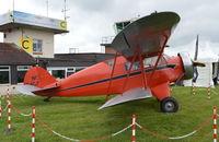 N12467 @ EGTB - Waco UEC at Wycombe Air Park. - by moxy