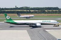 B-16712 @ VIE - Eva Air Boeing 777-300 - by Thomas Ramgraber
