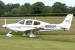 N89GH @ EGBO - Participating in 2018 Project Propellor at Wolverhampton Halfpenny Green Airport
