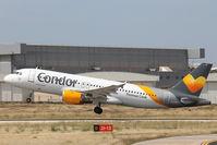D-AICF @ LMML - A320 D-AICF Condor - by Raymond Zammit