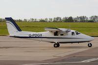 G-PDGX @ EGSH - Leaving Norwich, formerly OY-GNS.