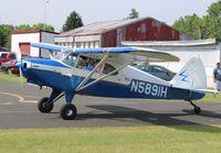 N5891H @ 88C - Piper PA-16