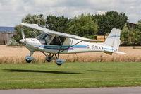 G-RMAV @ EGBR - Ikarus C42 FB80 G-RMAV RM Aviation Breighton 16/7/17 - by Grahame Wills