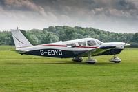 G-EDYO @ EGTH - Piper PA-32-260 Cherokee Six G-EDYO McCarthy Aviation Old Warden 3/6/18 - by Grahame Wills