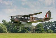 G-AGJG @ EGTH - De Havilland DH89A Dragon Rapide G-AGJG Old Warden 3/6/18 - by Grahame Wills