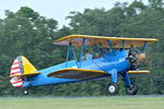 N5635V @ OSA - Dawn goes for her first Stearman ride! Mid America Flight Museum