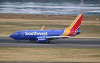 N481WN @ KPDX - Boeing 737-700 - by Mark Pasqualino