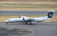 N430QX @ KPDX - DHC-8-402 - by Mark Pasqualino