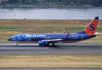 N817SY @ KPDX - Boeing 737-800