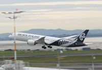 ZK-NZM @ NZAA - taking off from AKL - by magnaman