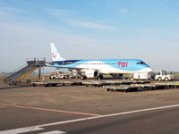 OO-JVA @ EBOS - Boarding for Palma de Mallorca PMI/LEPA, picture taken by An Van der Elst with permission