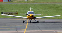 G-AXEV @ EGBJ - In action at EGBJ - by Clive Pattle