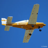 G-AXEV @ EGBJ - Take off from Gloucester Staverton EGBJ - by Clive Pattle