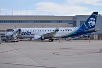 N193SY @ KBOI - Parked at the Alaska gate. - by Gerald Howard