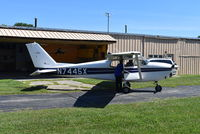 N7445X @ I73 - Cessna 172B - by Christian Maurer