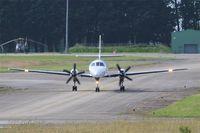 D-CKPP @ LFRJ - Fairchild SA-227DC Metro 23, Taxiing to holding point rwy 08, Landivisiau Naval Air Base (LFRJ) Tiger Meet 2017 - by Yves-Q