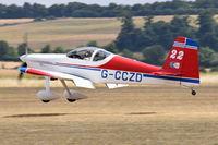 G-CCZD @ EGSU - Landing at Duxford. - by Graham Reeve